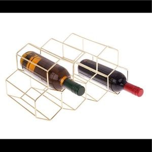 Other - Gold Wine Rack